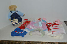 "North American Bear~12"" Fluffy VanderBear~1982~Tag~Assor tment Of Her Outfits"