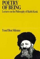 Poetry of Being: Lectures on the Philosophy... by Yosef Ben Shlomo, 1990 PB