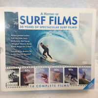 A HISTORY OF SURF FILMS 14 FILMS 12 DISC BOX SET DVD 50yrs of Surf History 2012