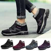 Women Winter Thermal Villi Boots Leather Platform High Top Fashion Warm Shoes
