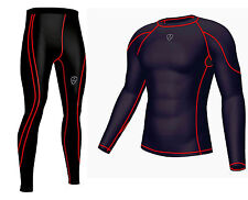 Mens Compression Base layer Full Sleeve  Skin Top & Long Running tight pant
