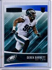 2017 Rookies & Stars BLACK Parallel RC DEREK BARNETT /5 Eagles Rookie Card