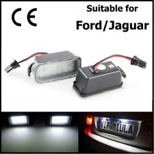 2 pcs LED Licence Number Plate Light For Jaguar XF X250 XJ X351 Error Free