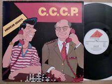 """C.C.C.P. - AMERICAN-SOVIETS / 12""""MAXI / 1986 / GER / CLOCKWORK RECORDS 50-5578"""
