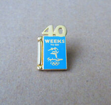 40 Weeks to Go Pin - Weeks to go Series - Sydney Summer Olympics