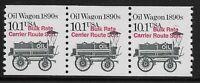US Scott #2130a, Coil of 3 1988 Oil Wagon 10.1c FVF MNH