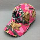 CSI Two Hearts One Love Pink Camo Womens Logo Hat Strap Back Adjustable Cap