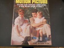 Ricky Nelson, Jayne Mansfield, Sal Mineo, Elvis - Motion Picture Magazine 1958