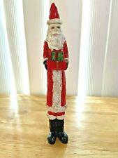 Christmas Pencil Style Santa Holding A Present