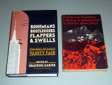2 books BOHEMIANS BOOTLEGGERS BEATS JACK KEROUAC Greenwich Village VANITY FAIR