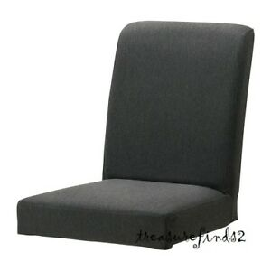 IKEA COVER for HENRIKSDAL Chair Dansbo Dark Gray Slipcover 502.526.08 - NEW NOS