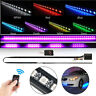 7 Color 56cm 48 LED RGB Scanner Flash Car Strobe Knight Rider Kit Light Strip US