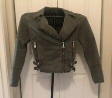 Women's Bebe Jacket Green Size Small