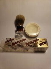 Mohawk Shaving Brush With Shaving Soap