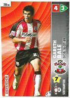 PANINI COCO COLA CHAMPIONSHIP 2006/07 GARETH BALE ROOKIE CARD NO 218