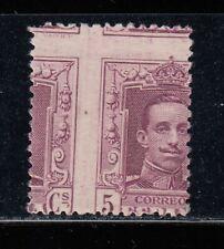 ERROR (VARIEDAD) EDIFIL 311* NUEVO CON CHARNELA. 1922 -DESPLAZADO- A XIII (220)