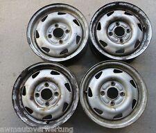 """4 Stück 13"""" 13 Zoll Stahlfelgen Felgen Ford Ka (RBT) 5x13 Et36 4x108"""