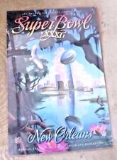 LOVELY POSTER FOOTBALL SUPER BOWL XXXI NEW ORLEANS LOUISIANA SUPERDOME 1997