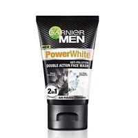 Garnier Men Power White Anti-Dark Cells Fairness Double Action Face Wash - 50 Gm