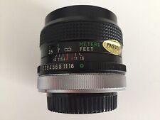 multi coated  Vivitar 28mm 1:2.8 MC Wide Angle Lens + caps