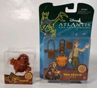 Lot Of 2 Disney Atlantis Lost Empire Mattel Subpod Die Cast, Milo Thatch Figure