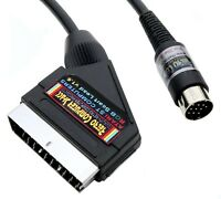 Atari ST High Quality RGB Scart Lead Video Cable TV AV Lead 2mtr