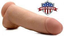 SkinTech Realistic 12 Inch Dildo Thick Huge Suction Dildo FTM  Made In USA