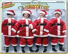 Three Stooges Christmas Figures Santa Suit Limited Edition Shemp Moe Larry Curly