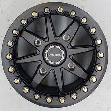 Vision 544 BOLT Bead Lock Aluminum ATV UTV RTV RIM WHEEL 14x7 4/156 5+2 Black