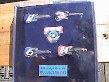 nascar 50th anniversary guitar collector's case set