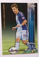 2013 Topps MLS Black Parallel Benny Feilhaber #4/10