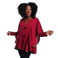 NEW - The Countess Collection Crepe Long Sleeved Overlay Jacket - SZ MEDIUM