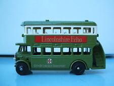 Lledo LP15-032b  D/D Regent AEC Bus City Of Lincoln Lincolnshire Echo Red