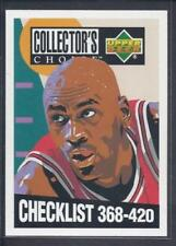 Upper Deck Checklist Not Autographed Basketball Trading Cards