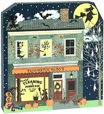 Cat's Meow Village Halloween Broomstick Betsys Cleaning Homecare #17-632