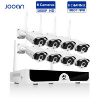 Wireless 8CH 1080P NVR Outdoor HD Network IP Wifi Camera Home Security System