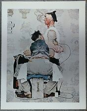Norman Rockwell 50 Favorites 1944 Poster 'The Tattooist'