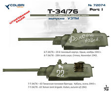 Resin 1//72 cd-r72004// Colibri Decals Kommandantenkuppel für T-34-76