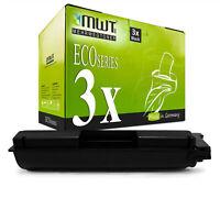 3x MWT ECO Toner BLACK für Kyocera FS-C-2626-MFP FS-C-2526-MFP FS-C-5250-DN