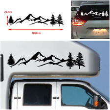 Mountain Range Sticker decal graphics car truck jeep PNW JDM vinyl tree Forest