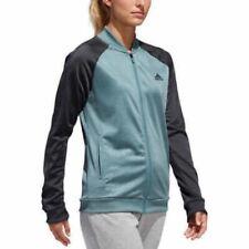 adidas Women's Embossed Track Full Zip Jacket