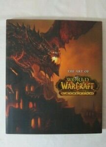 THE ART OF WORLD OF WARCRAFT CATACLYSM LARGE COLLECTIBLE BOOK