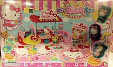 Sanrio Hello Kitty My Snack Car Play Set Mini Town Building Toys Suite KT-50060