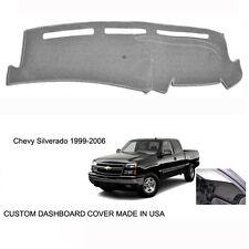 New Chevy Silverado 1500 2500 Truck Custom Gray Dashboard Dash Cover 1999 - 2006