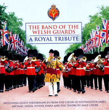BAND OF THE WELSH GUARDS A ROYAL TRIBUTE  BRAND SEALED NEW CD  BRASS / MILITARY