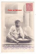 CPA ALGERIE Mauresque préparant le couscous VOLLENWEILER 1905