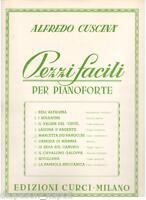 Alfredo Cuscina': Marcetta Der Ranocchi Von 10 Stück Einfache Für Klavier Curci