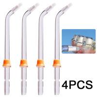Kit! 4*Dental Water Jet Orthodontic Tips For Waterpik WP-100 WP-450 WP-250 WP300