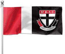 LARGE 1800x900mm Licensed AFL ST KILDA SAINTS Pole Flag (Pole not included)