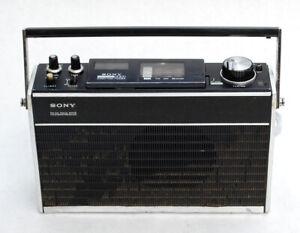 Vintage Sony 4 Band TFM-8600W Radio - Portable Transistor Shortwave Weather